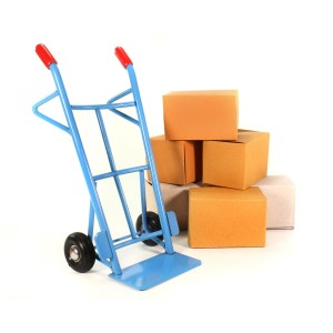 Sack truck with boxes